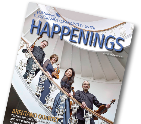 Happenings Program Guide Cover Photo
