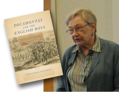Karen Kupperman - Pocahontas and the English Boys Book Cover