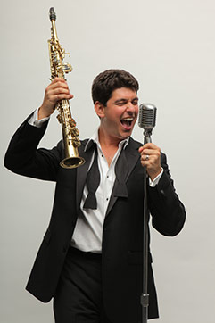 """Danny Bacher and the """"Swing That Music"""" All-Stars"""