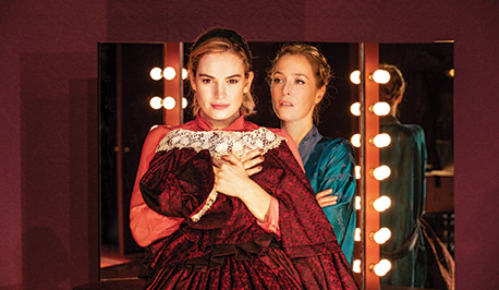 Lilly James and Gillian Anderson in All About Eve