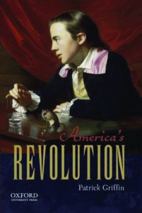 book cover America's Revolution by Patrick Griffin