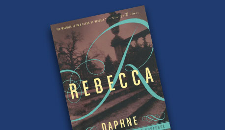 book cover, Rebecca by Du Maurier
