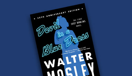 book cover Devil in a Blue Dress by Walter Moseley