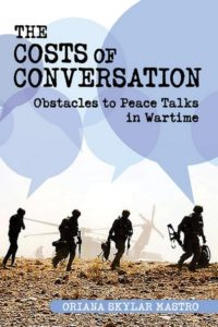 book cover The Cost of Conversation by Oriana Mastro
