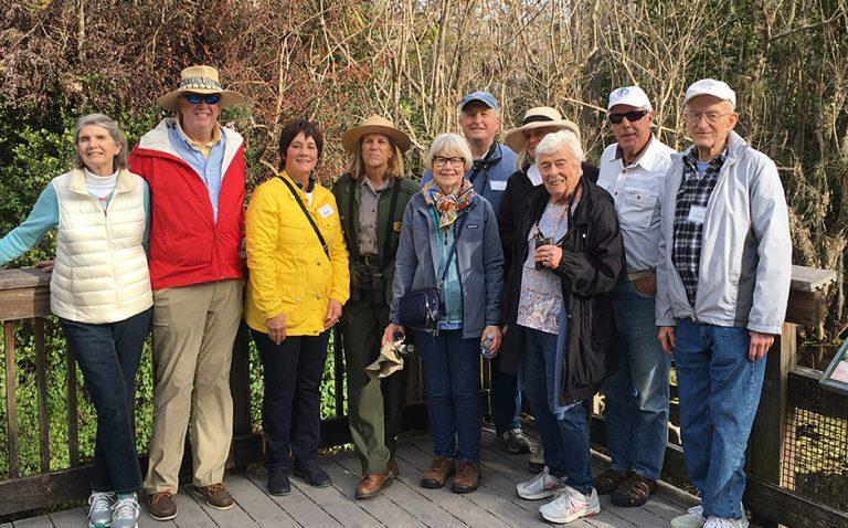 Explore the Florida Everglades - Group Photo