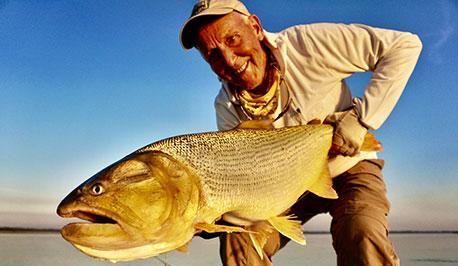 Gary Martin holding a fish