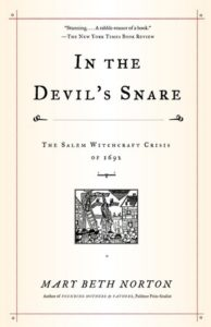 book cover In the Devil's Snare by Mary Beth North