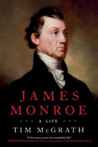 book cover James Monroe by Tim McGrath