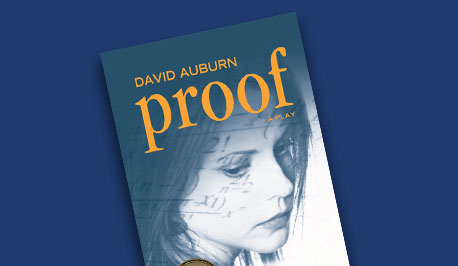 book cover Proof by David Auburn