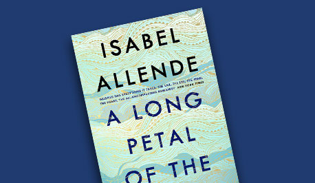 book cover of A Long Petal of the Sea by Isabel Allende
