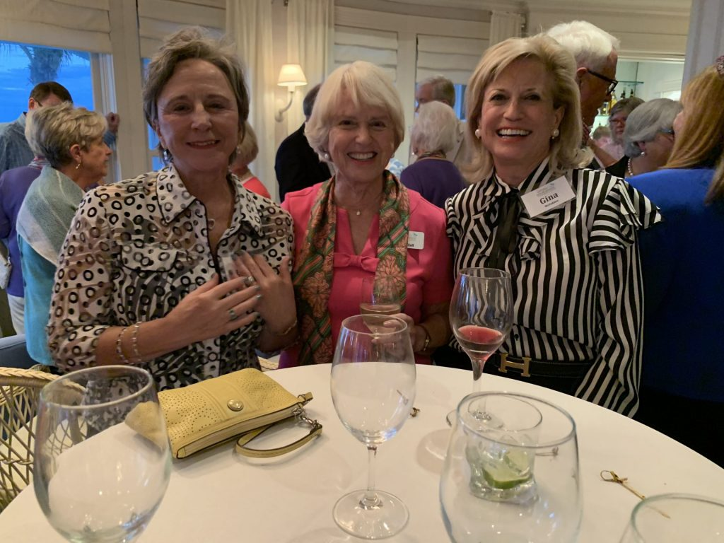 Lynda Grant, Joan Hall and Gina McFadden