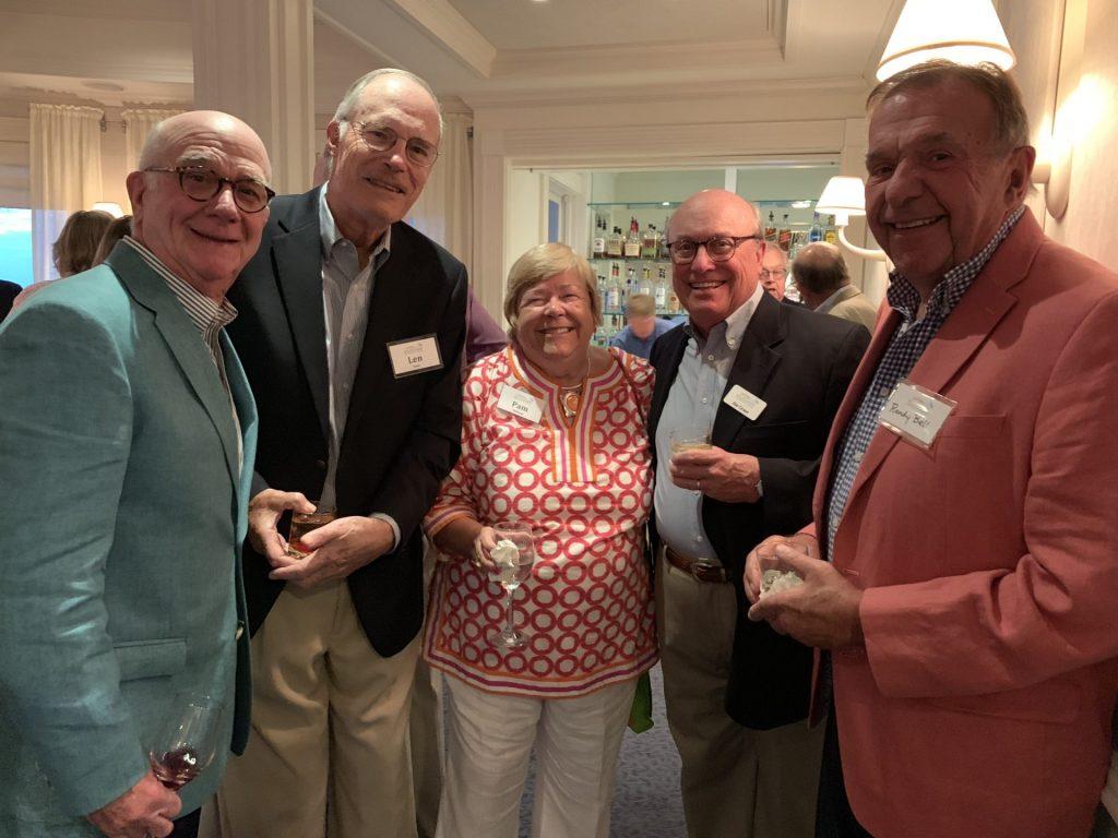 Marty McFadden, Len Saari, Pam Heilman, Jim Grant and Randy Bell