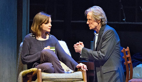 scene from Skylight featuring Carrie Mulligan and Bill Nighy