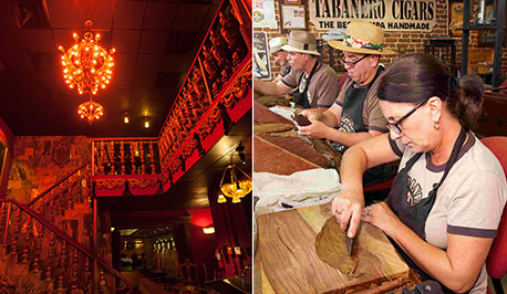 Bern's Steakhouse and Tabanero Cigar Factory