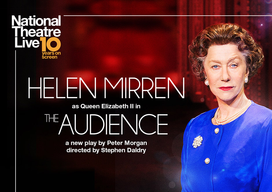 Helen Mirren as Queen Elizabeth II in The Audience Poster