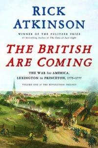book cover The British are Coming by Rick Atkinson
