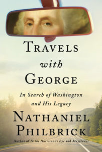 book cover Travels with George by Nat Philbrick