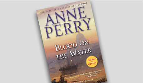 Book Cover - Blood on the Water by Ann Perry