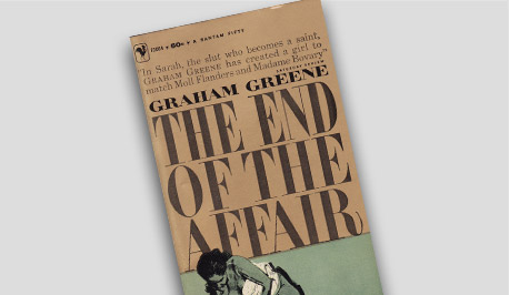Book Cover -The End of the Affair by Graham Greene