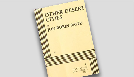 Book Cover - Jon Robin Baitz's Other Desert Cities