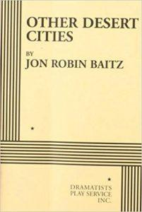 Book Cover - Jon Robin Baitz's Other Desert Cities
