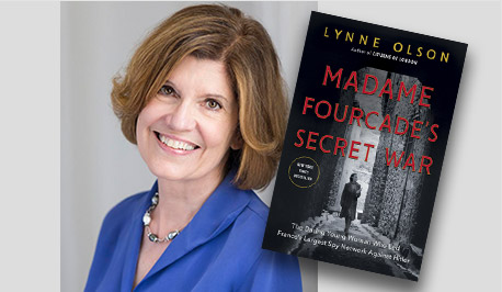 Madame Fourcade's Secret War Book Cover - Lynne Olson