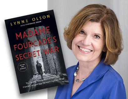 Madame Fourcade's Secret War Book Cover - Lynne Olson