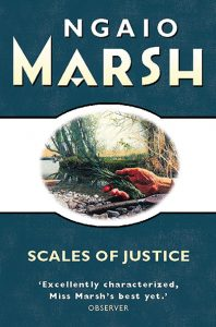 Book Cover - Scales of Justice by Ngaio Marsh