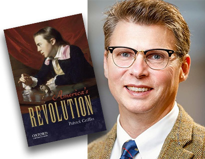America's Revolution Book Cover - Patrick Griffin