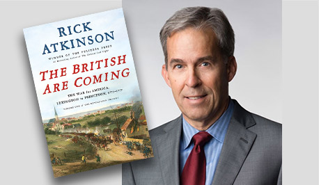 The British Are Coming - Book Cover - Rick Atkinson