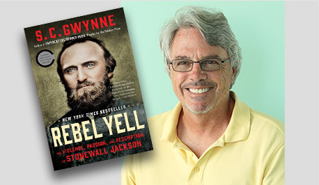 Rebel Yell: The Violence, Passion, and Redemption of Stonewall Jackson - S.C. Gwynne Book Cover