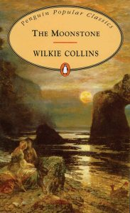 Book Cover - The Moonstone by Wilkie Collins